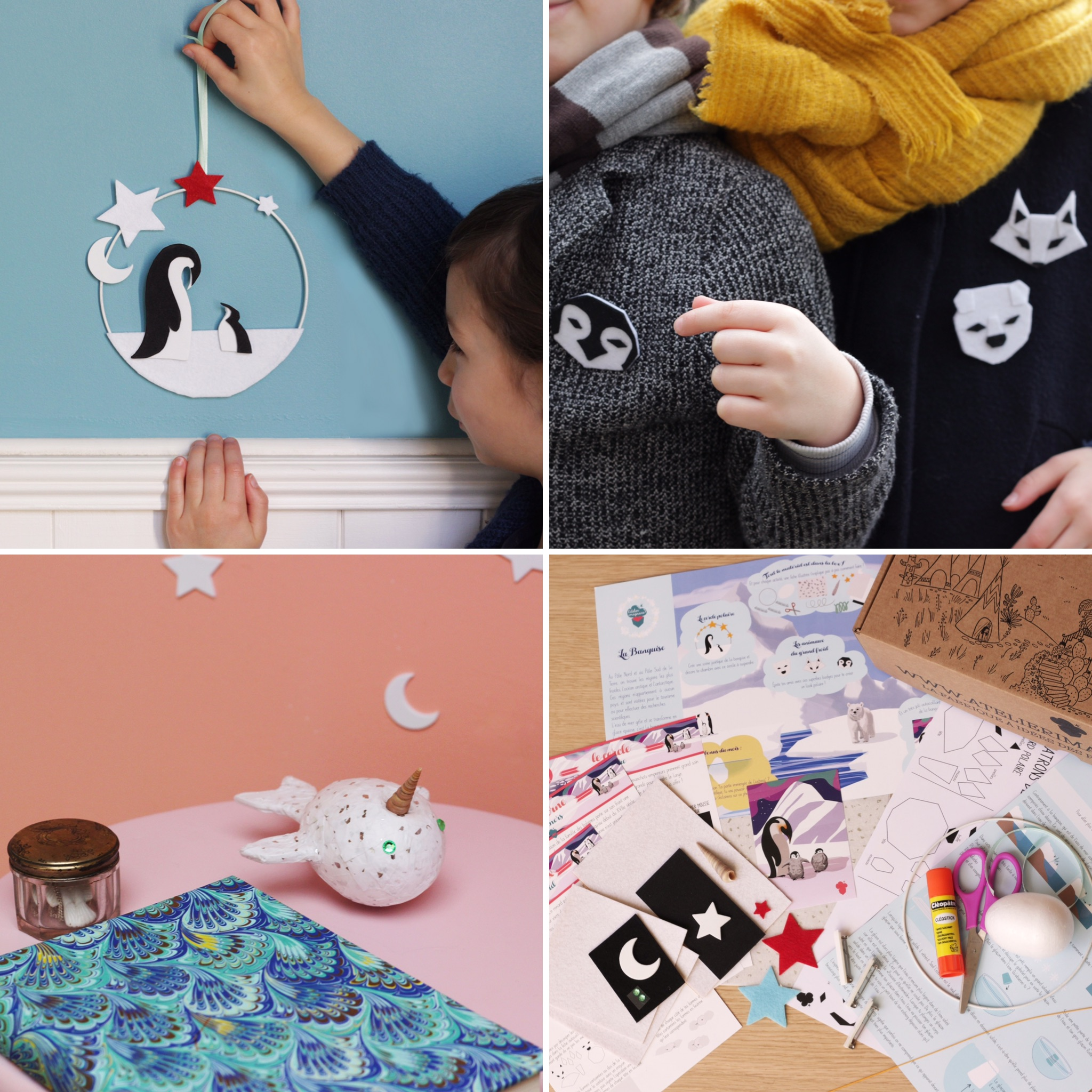 box-creative-banquise-noel-enfants