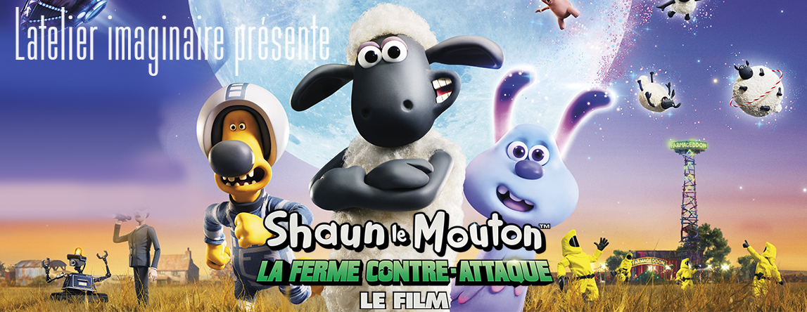 collaboration exclusive Shaun le Mouton le film atelier imaginaire