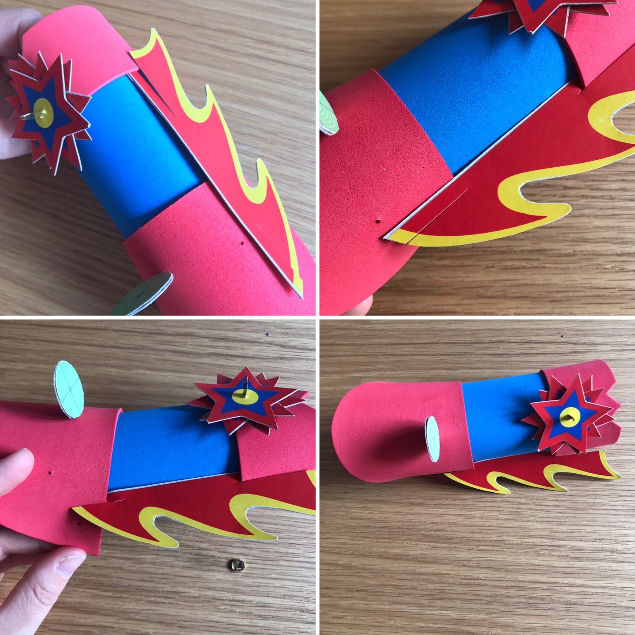 tutoriel-activite-enfant-super-heros-papier-mousse